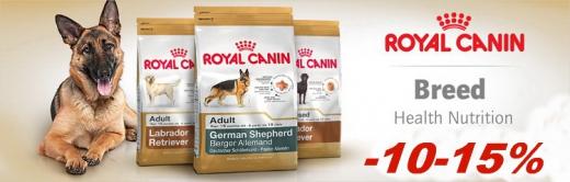 ROYAL CANIN для породистых собак - 10 -20% (до конца октября)