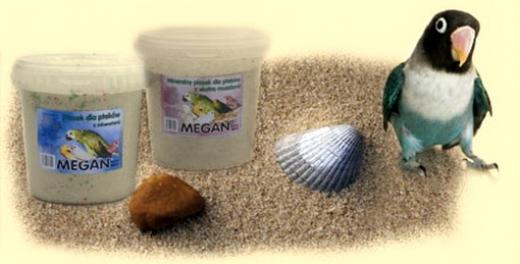 Песок для птиц