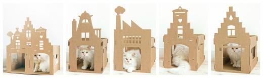 Majad valmistatud lainepapist