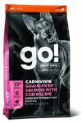 Go! for Dogs Carnivore Grain-Free Salmon with Cod Recipe - 10kg
