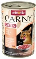 Animonda Carny Kitten Rind, Kalb & Huhn - 400g*6tk