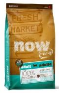 NOW Fresh Large Breed Adult Recipe Grain Free Turkey, Salmon, Duck & Omega oil - 11,3kg