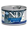 Farmina Mini Dog N&D Ocean Trout & Salmon - 140g