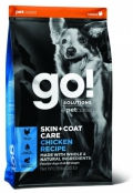 Go! for Dogs Skin + Coat Care Chicken Recipe - 1,6kg