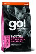 Go! for Cats Carnivore Grain-Free Salmon with Cod Recipe - 3,7kg
