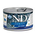 Farmina MiniDog N&D Ocean Godfish & Pumpkim - 140g