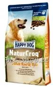 Happy Dog NaturCroq Rind & Reis - 15kg