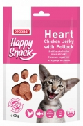 Beaphar Heart Chicken Jerky with Pollock