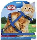 Trixie Шлейка с поводком для крупных кошек XL