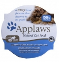 Applaws Cat Luxury Tuna Fillet & Prawn 10*60g