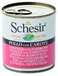 Schesir Nature for Dog Chicken & Carrots