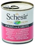 Schesir Nature for Dog Chicken & Carrots