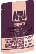 Aatu for Cats Salmon, Chicen & Prawn - 85g