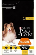 Pro Plan Opti Weight Light & Sterilised All Size Adult