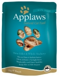 Applaws Cat Tuna Fillets & Whole Anchovy - 70g