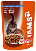 Iams Adult Beef in Gravy