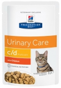 Hill's Prescription Diet Feline C/D Multicare with Chicken - 12*85g
