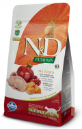 Farmina Natural & Delicious Grain Free Adult Cat Neutered Quail & Pumpkin