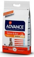 Advance Cat Adult Salmon & Rice Sensitive