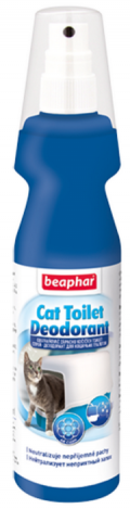 Beaphar Cat Toilet Deodorant  - 150ml