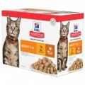 Hill`s Science Plan Feline Adult Chicken & Turkey Multipack