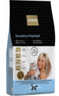 Enova Cat Sensitive / Hairball Fish & Rice - 400g