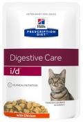 Hill's Prescription Diet Feline i/d Digestive Care with Chicken - 12*85g