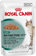 Royal Canin Feline Health Nutrition Instinctive 7+  in Gravy (12*85 gr.)