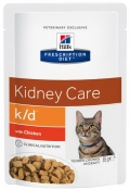 Hill's Prescription Diet Feline K/D Kidney Care with Chicken - 12*85g