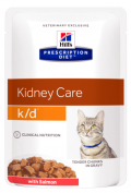 Hill's Prescription Feline Diet K/D Kidney Care with Salmon - 12*85g