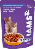 Iams Kitten & Junior Chicken in Gravy