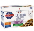 Hill`s Science Plan Kitten Chicken & Ocean Fish Multipack 12*85g