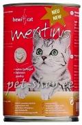 Bewi-Cat Meatinis Reich an Geflügel