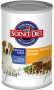 Hill`s Science Plan Canine Mature Adult 7+ Chicken - 370g