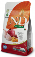 Farmina Natural & Delicious Grain Free Adult Cat Quail & Pumpkin