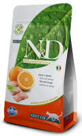 Farmina Natural & Delicious Grain Free Adult Cat Fish & Orange