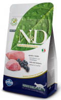 Farmina Natural & Delicious Grain Free Adult Cat Lamb & Blueberry
