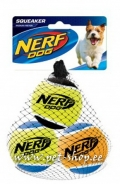 Nerf Dog Tennis Ball - 3 tk