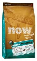NOW Fresh Large Breed Senior Recipe Grain Free Turkey, Salmon, Duck & Omega oil - 11,3kg