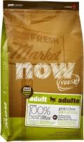 NOW Fresh Small Breed Adult Recipe Grain Free Turkey, Salmon, Duck - 2,72kg