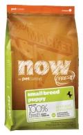 NOW Fresh Small Breed Puppy Recipe Grain Free Turkey, Salmon, Duck - 2,72kg