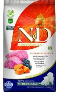 Farmina N&D Grain Free Puppy MEDIUM & MAXI Lamb, Pumpkin & Blueberry - 50g
