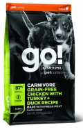 Go!  for Puppy Carnivore Grain-Free Chicken with Turkey + Duck Recipe - 1.6kg