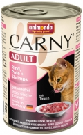 Animonda Cat Carny Adult Rind, Pute & Shrimps - 400g*6tk