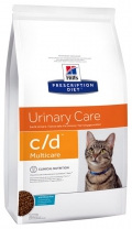 Hill's Prescription Diet c/d Multicare Urinary Care Oceanfish - 5kg