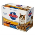 Hill`s Feline Adult Urinary & Hairball Control Mix 12tk x 85g