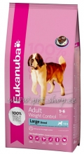 Eukanuba Adult Weight Control Large Breed - 15 kg
