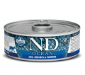 Farmina Cat N&D Ocean Cod, Shrimp & Pumpkin - 80g*6tk