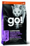 Go! Cat Carnivore Grain-Free Chicken with Turkey + Duck Recipe - 3,7kg