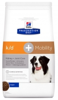 Hill's Prescription Diet k/d + Mobility Kidney + Joint Care корм